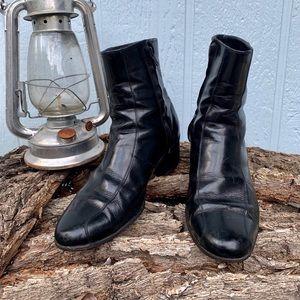 Vintage Florsheim zipper boots